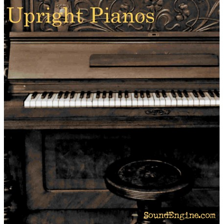 Upright Pianos for Halion