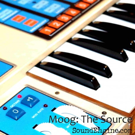 "EXS24 Moog ""The Source"""