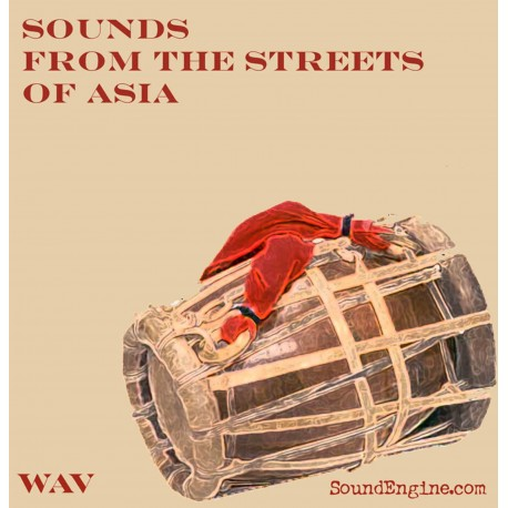 WAV Sounds from the Streets of Asia